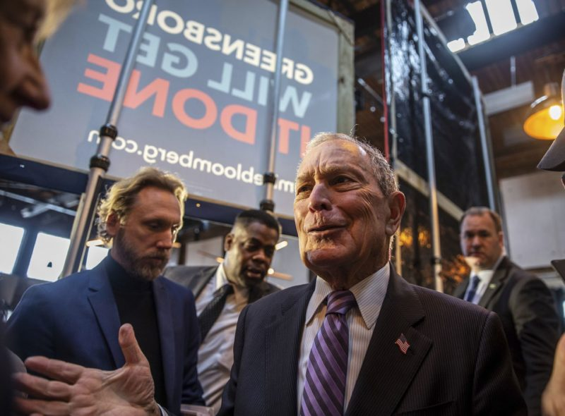 Marketing On social media, Bloomberg and Trump are fighting two very different fights